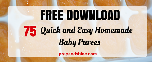 Homemade baby food recipe banana peach buckwheat breakfast prep quick and easy homemade baby purees homemade baby food recipe forumfinder Image collections