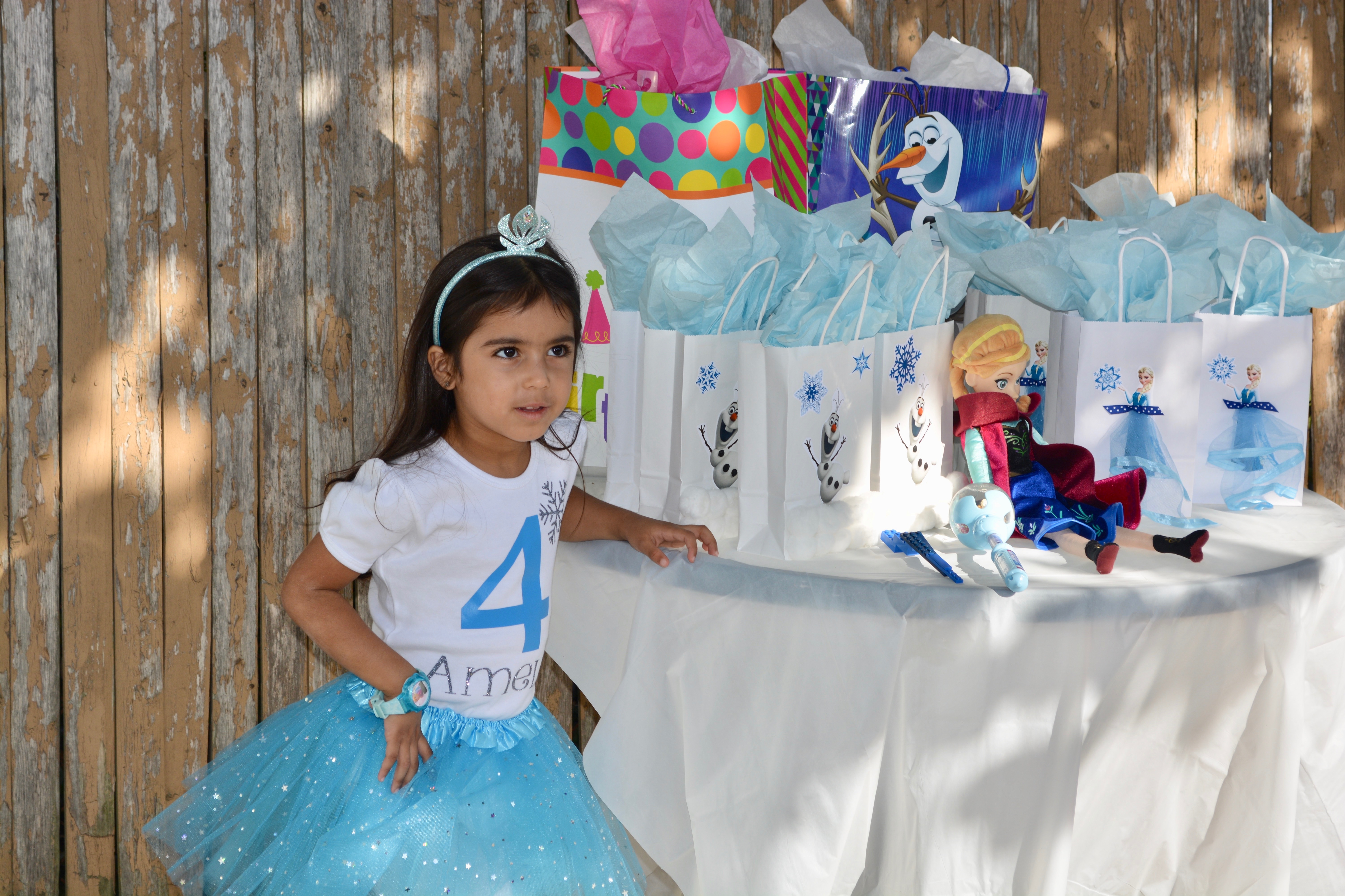 How To Prep The Ultimate Frozen Themed Birthday Party