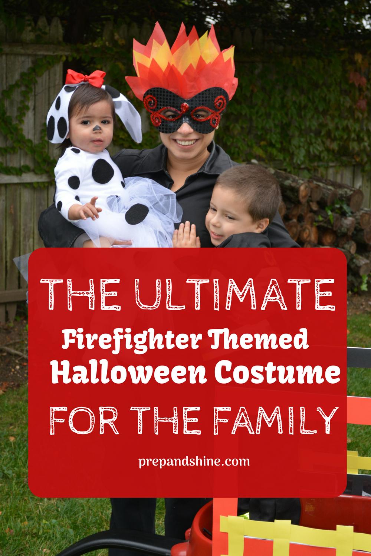 Family Theme Halloween Costume Ideas.How To Prep Firefighter Themed Halloween Costume For The Family