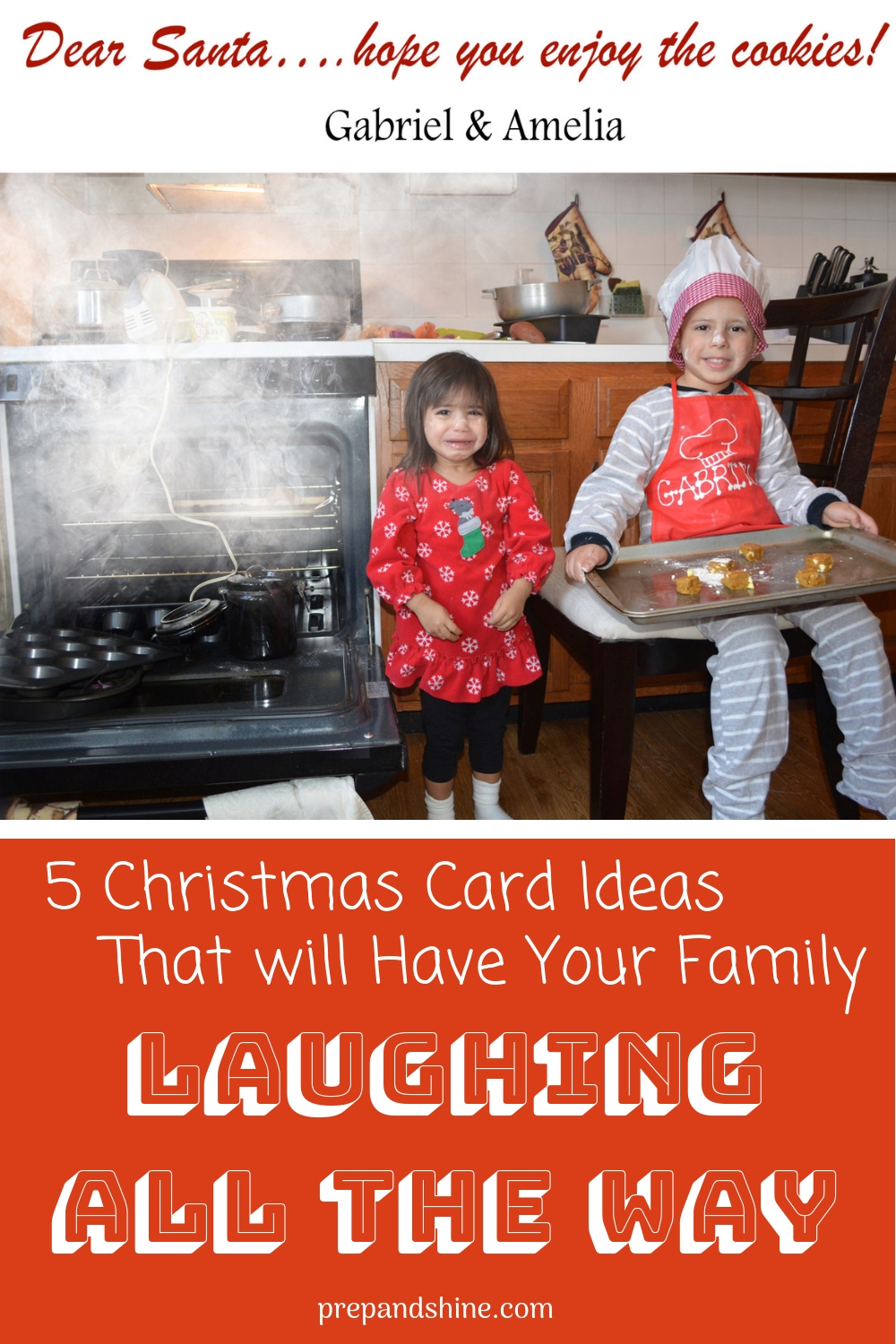 Step by Step: How to Prep Funny Christmas Cards - Prep and Shine