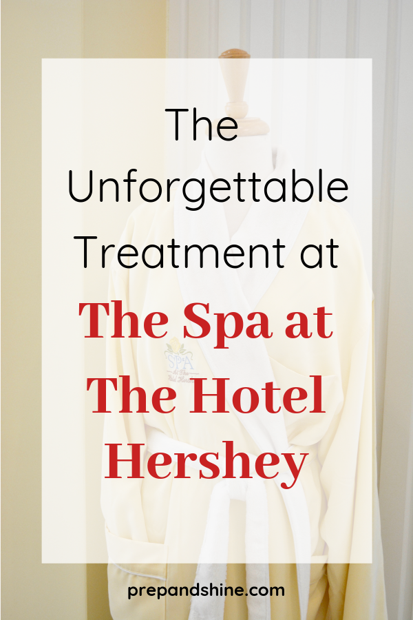 When visiting The Hotel Hershey, a trip to The Spa is a must. Would you believe me if I said I got a pedicure where they covered my feet in chocolate? Here's how I spent my afternoon at the spa for much-needed self-care during a family trip.  #spa #spatreatment #selfcare #hershey #pennsylvania #chocolatelover