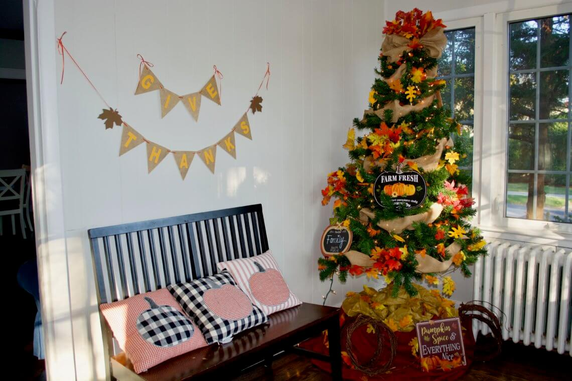 How To Prep A Thankful Thanksgiving Tree Prep And Shine