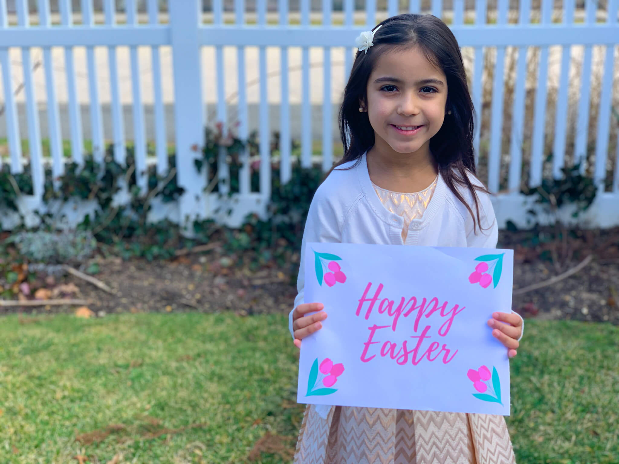 10 Cute Signs for Easter Photoshoot with Kids {Free Printables} - Prep and  Shine