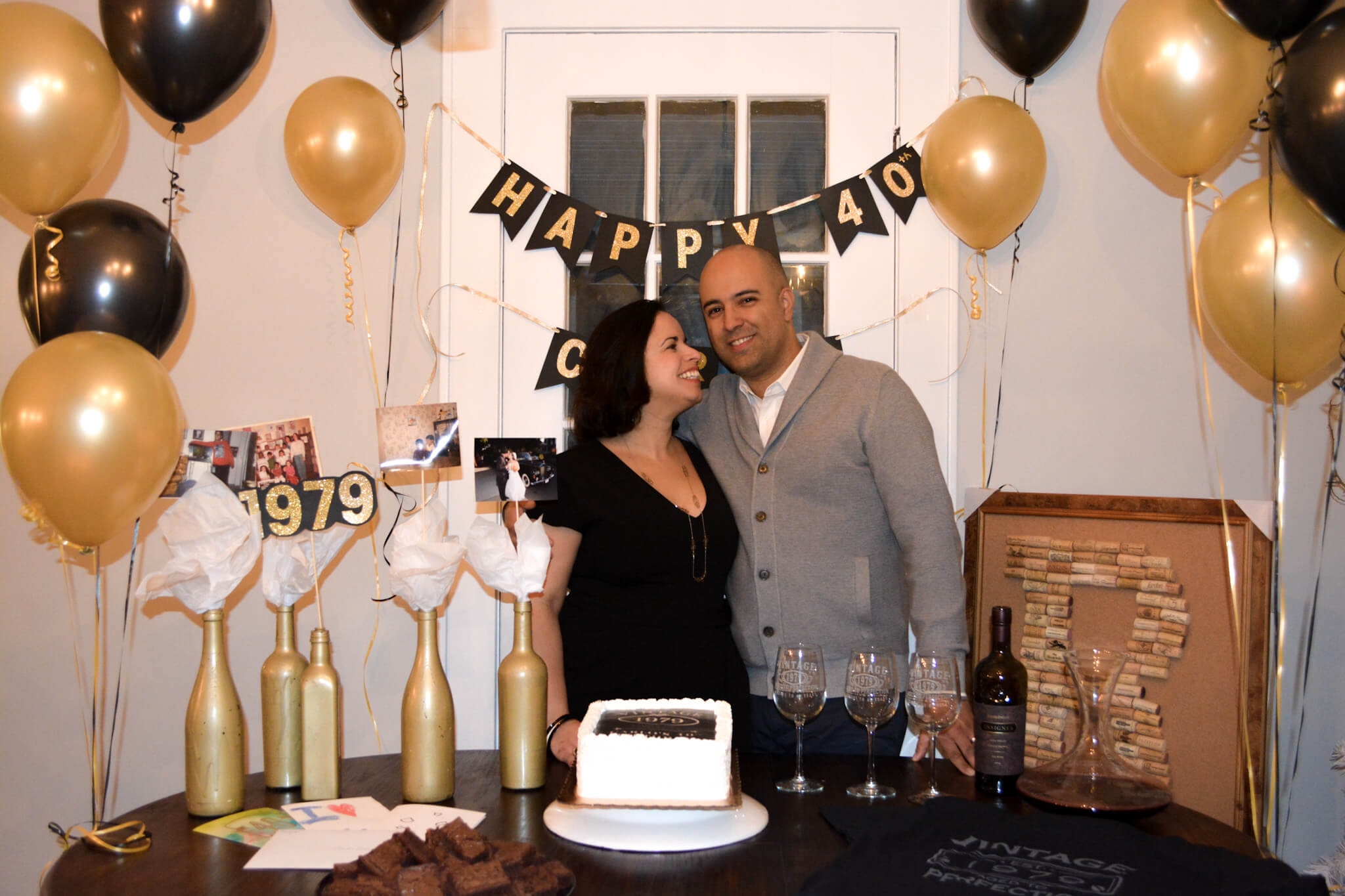 How To Prep A Simple Yet Classy Wine Themed 40th Birthday Party Prep And Shine